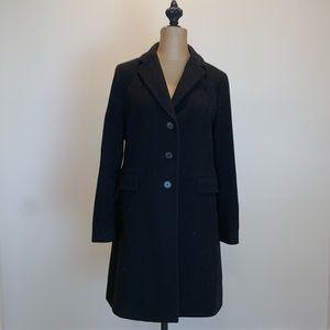 Banana Republic black Wool coat #3584